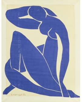 H. MATISSE DESNUDO EN AZUL CUADRO MODERNO ABSTRACTO Home