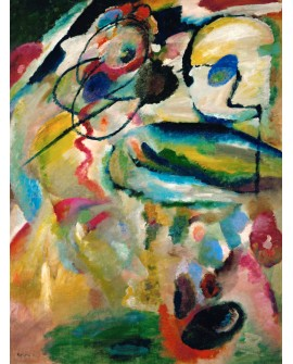 VASSILY KANDINSKY CUADRO MURAL COMPOSICION VERTICAL Home