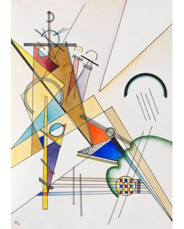 VASSILY KANDINSKY CUADRO ABSTRACTO MURAL GEWEBE VERTICAL Home
