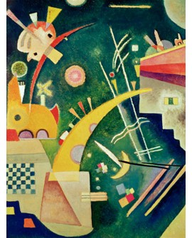 VASSILY KANDINSKY CUADRO MURAL HORNFORM VERTICAL Home