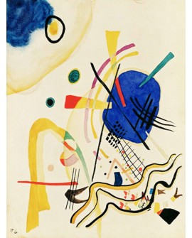 VASSILY KANDINSKY CUADRO MURAL ABSTRACTO TIPO MIRO VERTICAL Home