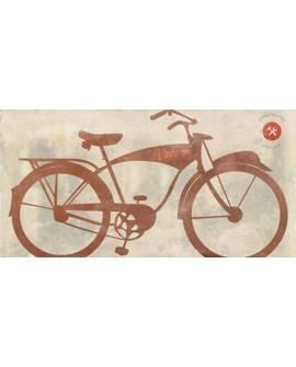 skip teller cuadro bicicleta clasica vintage pop art