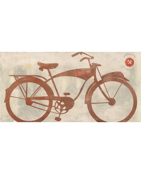 skip teller cuadro bicicleta clasica vintage pop art Cuadros Horizontales