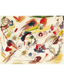 VASSILY KANDINSKY CUADRO ABSTRACTO MURAL SIN TITULO Home