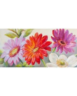 nel whatmore cuadro grande flores alegres margaritas Cuadros Horizontales