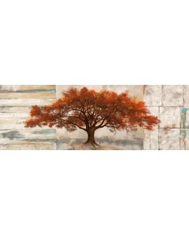 leonardo bacci cuadro mega panoramico mural arbol