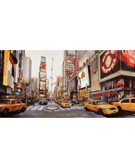 MANNARINI PANORAMICO NEW YORK PERSPECTIVA TIMES SQUARE