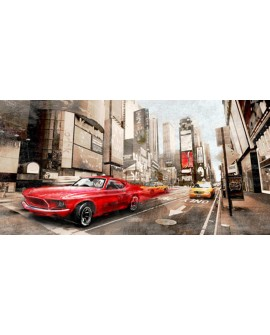 BALDO NEW YORK FORD MUSTANG TIMES SQUARE PANORAMICO