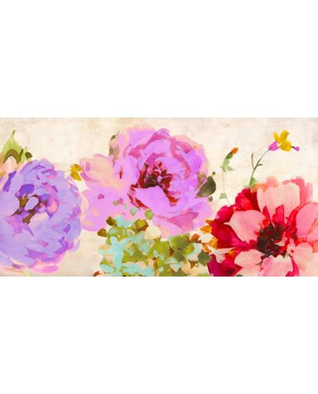 kelly parr cuadro mural cabecero flores bonitas 2 Cuadros Horizontales