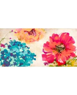 kelly parr cuadro mural cabecero flores bonitas Cuadros Horizontales