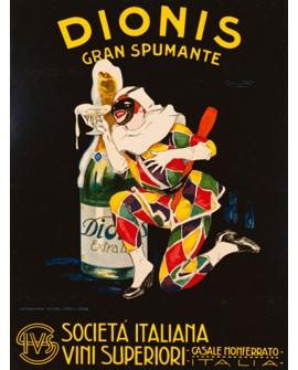 DIONIS 1928 ARLEQUIN ART DECO NOUVEAU RETRO CARTEL CLASICO Home
