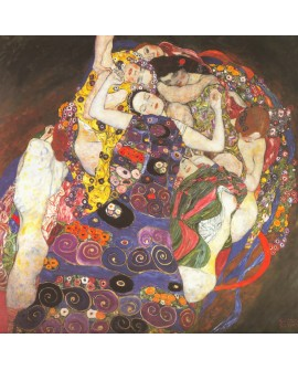 Gustav Klimt - La virgen The Virgin - impresionista cuadro reproduccion Home